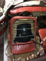 Subpac in Ghia Cabriolet Seat