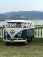 VWs on 18th hole Pebble Beach