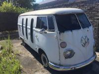 Panel van with side windows