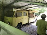 1968 Logoed Double Cab Racing Team Hauler