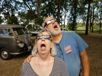 Total eclipse viewing in our 1967 Campmobile