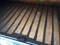 floor insulation above engine