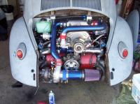 turbo oval with inter cooler