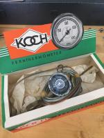 NOS Koch oil temp gauge and dip tick sender