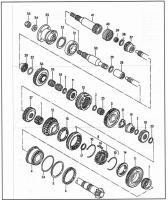 Syncro trans parts
