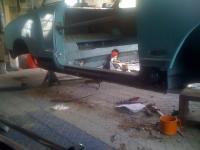 Karmann Ghia rust