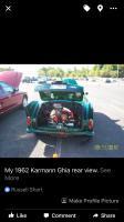 1962 VW Karmann Ghia Roadster