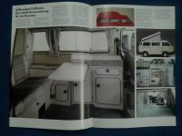T3 Westfalia California 1990 Brochure