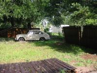My first t3 vw in my new backyard.....AFTER CHARLEY(THE HURRICANE)!!!