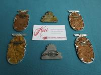 Rarest original KDF badges!