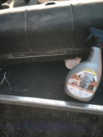 Gas tank hose rubber stuff