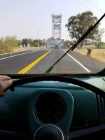 Driving to Sacramento Bugorama in a 1962 Double Cab