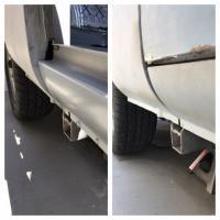 Passenger side metal repair. (Rockers, pillars, rear corner and battery tray)