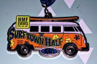 Surftown Halfmarathon Bus medals!