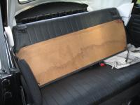 1975 Beetle convertible parcel shelf