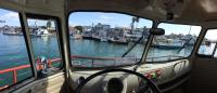 Crossing from Newport peninsula to Balboa Island