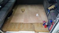 Wood floor in a Tin Top