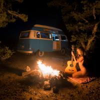 Camper & Fire