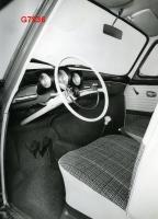 Early Notchback interior press photo