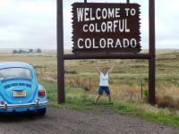 Colorado's SE border
