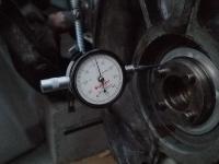 Checking #1 Main Thrust Brg