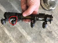 rocker, valve alignment and broken adjustment screw