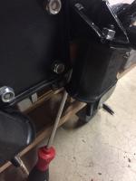 Motor mount custom shim