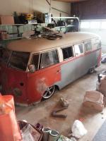 Lowered split bus