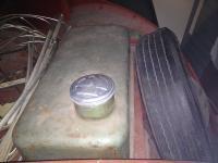 1950 11G Pastel Green Survivor Split Gas Tank