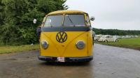 Barndoor Postal Yellow Bus