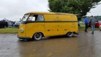 Barndoor Postal Yellow Bus