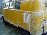 May 1957 postal yellow kombi