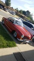 welcome home 1965 ghia  with my 64 bus  garage is full!