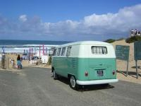 my bus in the rip curl pro in french