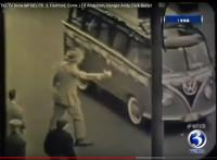 1958 23-Window in old news footage