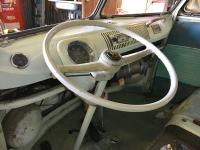 Steering wheel and column reinstalled