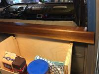bulkhead wood cover