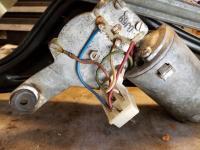 Baywindow wiper motor