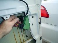 door lock actuator wiring