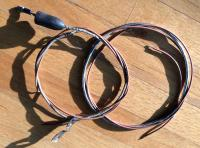 Horn wire armored brown