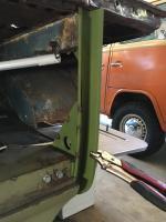 Engine Shelf and D Pillar