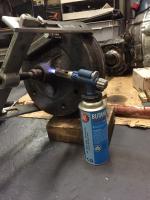 RGB brake drum removal