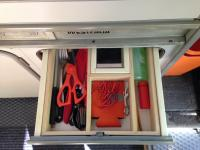 ARB awning and drawer organizer