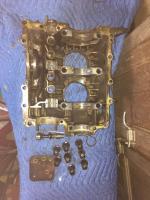 1600 Super beetle engine disassembled
