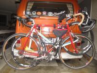 Thule ball clamp bike rack