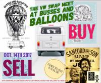 Buses and balloons swap meet