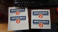 Westfakia stickers