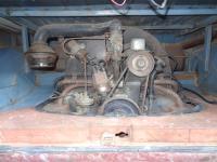 1956 Dove Blue Panel Van