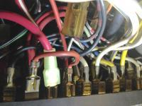 Back side of fuse box