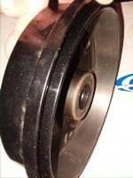 Brake drum detail